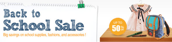 Discounted 2013 Back To School Supplies at DHgate
