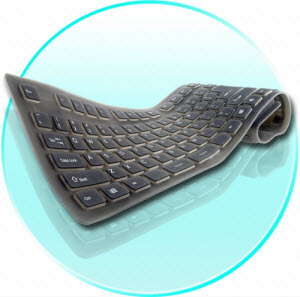 Computer Accessories - Flexible Keyboards