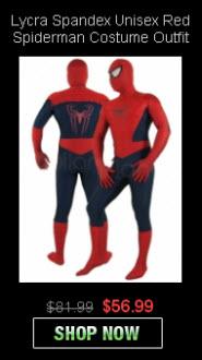 Wholesale Spandex Unise Spiderman Costumes