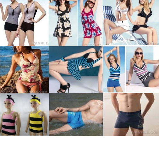 Vankle Wholesale Swimwear