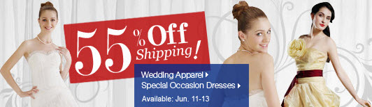 Deals on Wedding Apparel and Special Occasion Dresses