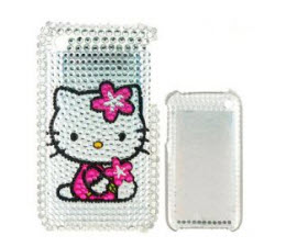 crystal-kitty-cases-for-iphone-4