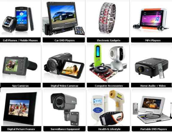Wholesale Electronics on Chinavasion