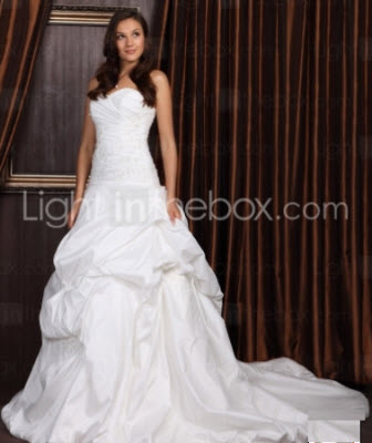Discounted Ball Gown Sweetheart Wedding Dresses