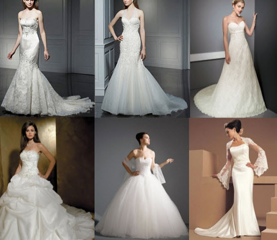 Discounted Wedding Dresses at Milanoo