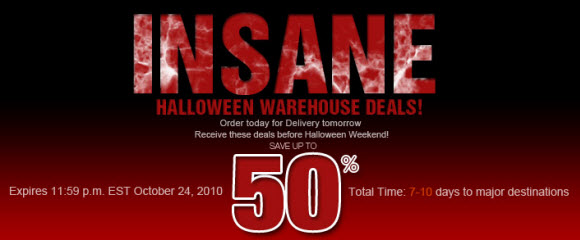 Halloween Warehouse Deals