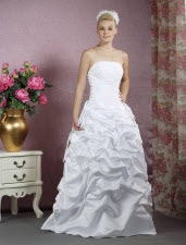 Ball Gown Floor Length Wedding Dresses