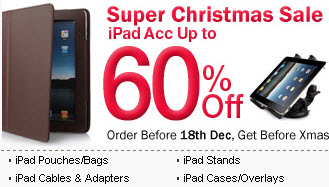 Christmas Last Fling Sale on iPad Gadgets