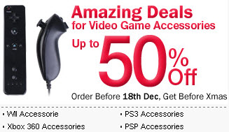 Christmas Last Fling Sale on Video Game Accessories