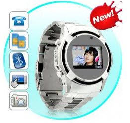 Dual SIM Cell Phone Watches on ChinaVasion