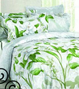 White Floral Bedding Sets Green Floral Bedding Sets