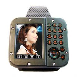 Tri-band Cell Phone Watches