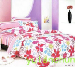 Twill Flowers Bedding Sets
