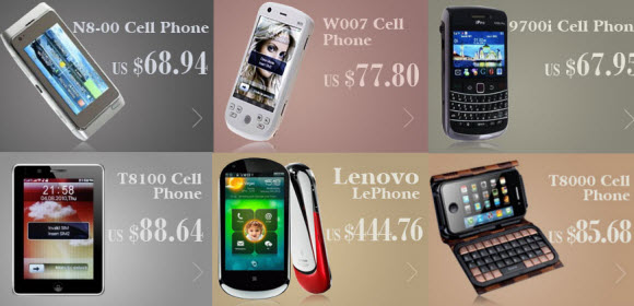 China Wholesale Cell Phones