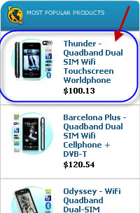 Most Popular Cell Phones on ChinaVasion