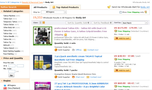 Tips on Finding Best Wholesale Tattoo Supplies