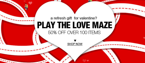 valentine's day 2011 deals from china shopping stores, Ideas