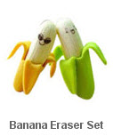 Banana Eraser Sets