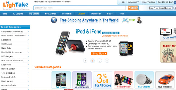 Online China Wholesale Shopping Website Lightake.com