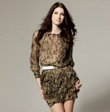 Trendy Leopard Print Dresses at Cheap Prices