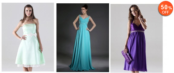Bridesmaid Dresses At Lightinthebox