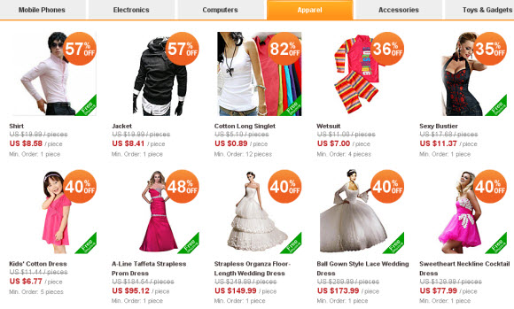 featured products for AliExpress 1st Anniversary Sale