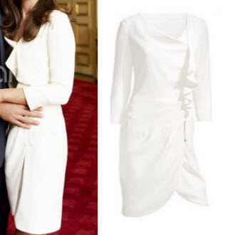 Kate Middleton Little White Dress