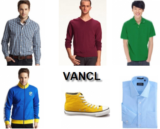 VANCL Apparel and Accessories at Milanoo Brand Store