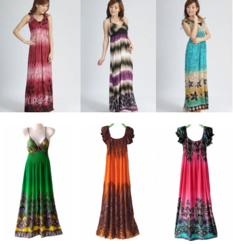 Maxi Dresses on Sale: Discounted Maxi Dresses 2011 from Online Stores