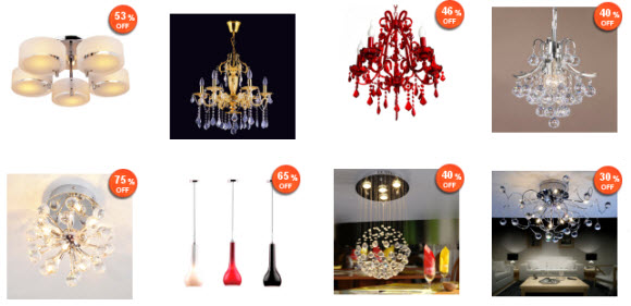 Discounted Wholesale Chandeliers at Lightinthebox