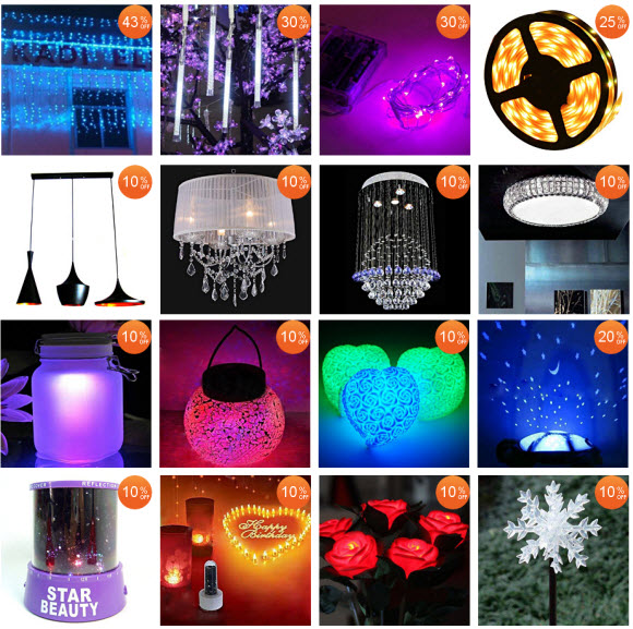 discounted christmas 2011 lights at aliexpress