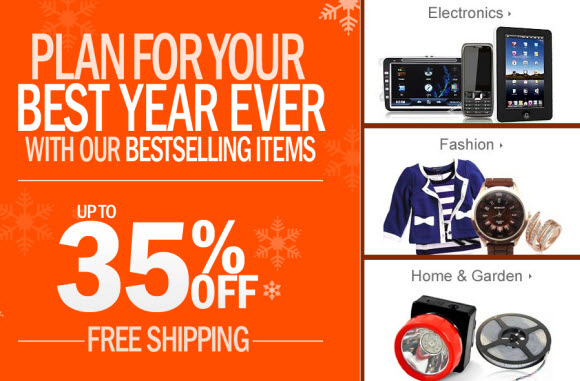 AliExpress New Year 2012 Sale