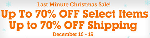 Christmas Final Sale from Lightinthebox