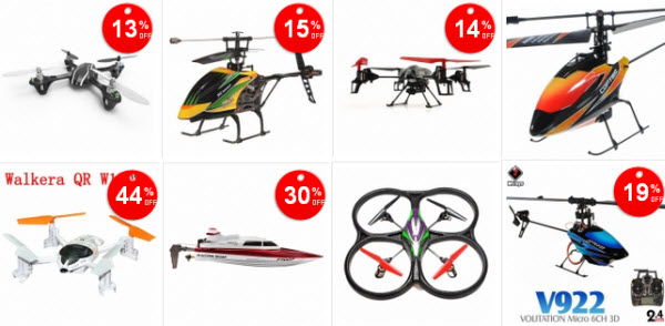 Discounted RC Helicopters and RC Toys