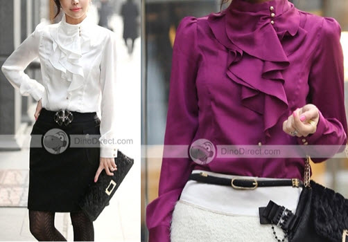 Trendy Ruffled Blouses for Women: They Are On Sale By Online Stores