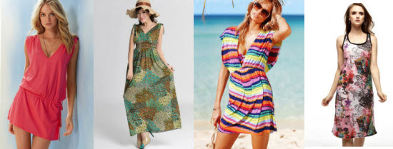 Beach Dresses for Summer 2012 at Milanoo