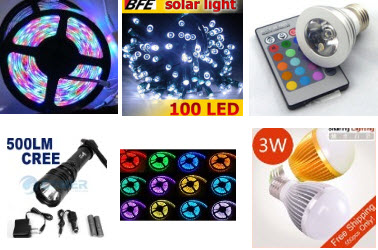 LED Lights and Bulbs