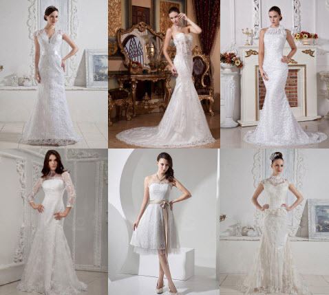 Online Dress Shops on Finding Top Deals  Discounted Lace Wedding Dresses At Chinese Shops