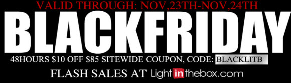 BlackFriday Flash Sale at LightInTheBox.com