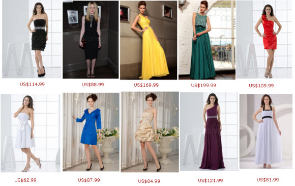 Milanoo Discounted Party Dresses