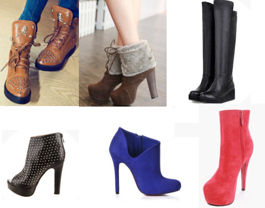 Discounted Boots and Booties at Milanoo.com