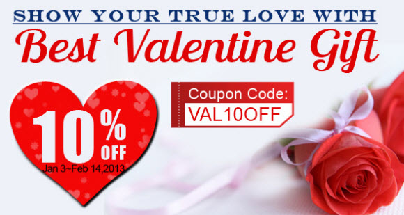 Priceangels Coupon Code For 2013 Valentine'S Day