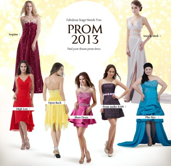 Cheap Prom Dresses for 2013 from Milanoo.com