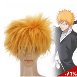 Bleach Kurosaki Ichigo Short Straight Cosplay Wig in Golden