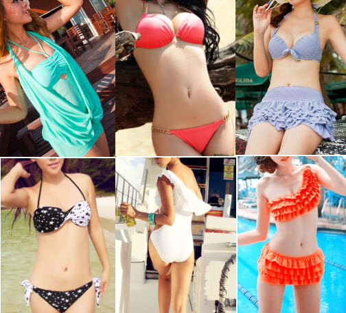 Cheap Chinese 2013 Swimsuits for Women at Milanoo
