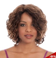 Kanekalon Europe and America Short Curly Hair Wig