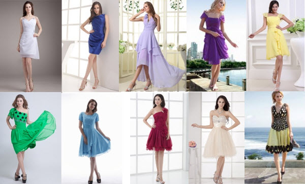2013 College Graduation Dresses at Dinodirect.com