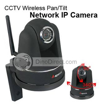 Apexis CCTV Wireless High Definition Security IP Camera