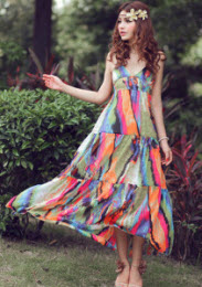 Wholesale Boho Style Clothing Cheap Dresses in Bohemian Styles