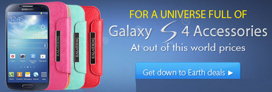 Deals on Samsung Galaxy S4 Accessories at Ahappydeal.com